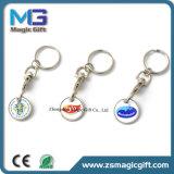 Stampa simbolica personalizzata Keychain della moneta del metallo