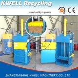 Machine hydraulique de presse d'herbe, presse verticale de paille, machine de emballage de foin