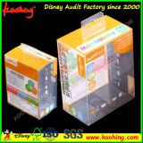 Caja de embalaje de plástico transparente personalizado transparente para productos electrónicos