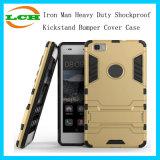 Eisen-Mann Shockproof Kickstand Stoßtelefon-Hochleistungskasten