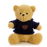 Рекламные индивидуального логотипа Мишка трикотажные T футболка Мягкие плюшевые игрушки мягкие игрушки
