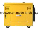 6kw type silencieux refroidi à l'air générateur diesel (DG8500SE)