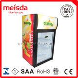 Réfrigérateur en verre droit de porte de 40 litres