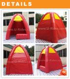 Tenda gonfiabile gialla della cabina per esterno