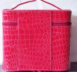 Коробка PU классицистической модной красотки вскользь портативная
