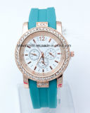 顧客用シリコーンの腕時計