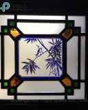 صنع وفقا لطلب الزّبون يلوّث زجاج/[منشريا] [ويندوو غلسّ] ([س-مو])
