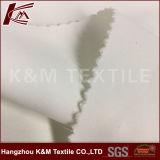 Alta qualità due strati della saia di bianco del tessuto 100% di Polyeste