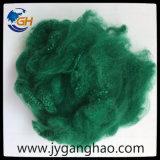 Fibra de grapa de poliester en verde