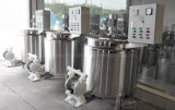 Serbatoio mescolantesi del riscaldamento elettrico dell'acciaio inossidabile con la pompa a diaframma