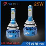 H4 H7 stellte zuerst 6000lm Selbst-LED Auto-Scheinwerfer her
