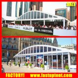 Transparentes Arcum Aluminiumzelt für Hochzeit, Messe, Sport-Gericht