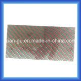 1.5mmのあや織り光沢のあるカーボンファイバーのパネル