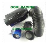 3in realer Kohlenstoff-Luftfilter mit flexibler Gummi Reuducer Plastikuniversalität des Rohr-76mm