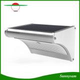 Waterproof Solar Garden Light Segurança sem fio ao ar livre 450 Lumen 4 em 1 modelo 24 LED Microwave Radar Motion Sensor Light