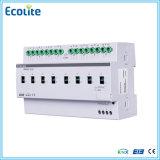 Controlador de iluminação Eib / Knx 8-Channel