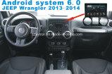 Sistema Android 5.1 coches reproductor de DVD para la pantalla táctil con Wrangler Navegación y GPS