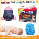 Boa qualidade a preços baixos das fraldas para bebé descartáveis