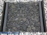 高炭素の鋼鉄二重ひだスクリーンの金網を振動させる砕石機