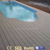 Meilleures ventes de sécurité résistant aux UV WPC un plancher de bois solide pour le jardin