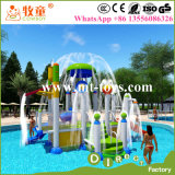 Parque pequeno do Aqua da água dos miúdos do parque temático para a associação