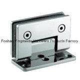 Supporto di vetro di vetro dell'acciaio inossidabile della cerniera di portello della cerniera del morsetto della stanza da bagno del morsetto
