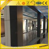 Piezas de aluminio de la pared de cortina de la alta calidad con la configuración de aluminio
