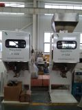 De Machine van het In zakken doen van de aardnoot met Transportband en Naaimachine