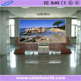 Visor a cores de P3 da Tela de LED para publicidade interior fixa