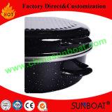 Esmalte para servicio pesado tostadoras Turquía Oval con rack