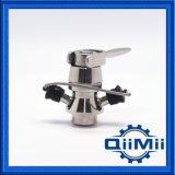Válvula asséptica da amostragem da braçadeira do aço inoxidável na aplicação da cerveja