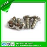 Abotoar o parafuso inoxidável M4*10 do parafuso de aço da movimentação Torx principal