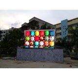 LED al aire libre impermeable P6 que hace publicidad de los paneles