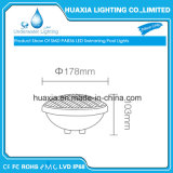 18W lampada della piscina del PVC PAR56 LED