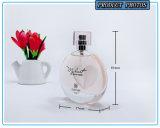 Bouteille de parfum en verre de luxe 50ml avec le chapeau de Surlyn