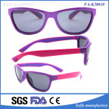 Moldura colorida duplo de alta qualidade polarizado óculos de lentes de óculos para crianças