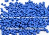 Выдувание пленки PE высокого качества класса PP ABS синего Masterbatch разноцветных пластмассовых материалов