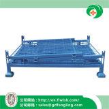 Складной стол сеткой контейнер для склада и под Forkfit