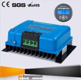 150VDCパネルシステムFangpusun 12volt 24volt 36V 48voltレートLCDが付いている情報処理機能をもった45A 60A 70A青いMPPTの太陽エネルギーの充電器のコントローラ