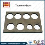 Strato bimetallico placcato di titanio/del piatto lega di titanio
