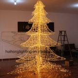 Décoration de Noël Motif d'éclairage grand arbre lumière