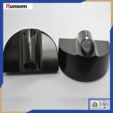 Zwarte Geschilderde POM die ABS CNC Plastic Delen machinaal bewerken