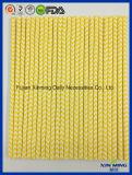Paglia del documento della striscia del Chevron di colore giallo della decorazione del partito del bambino