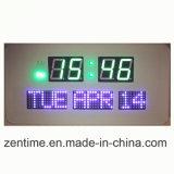 L'horloge de mur colorée de la lumière DEL Digital dans le prix usine