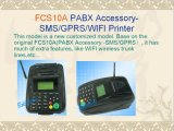 SMS/GPRS/WiFi Printer voor Restaurant Fcs10W