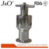 Válvula de seguridad sanitaria de la relevación del acero inoxidable