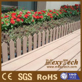 紫外線抵抗の台地のための合成の木製の物質的な庭の塀