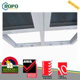 Окно UPVC вертикальное сползая, удваивает повиснутое окно орденской ленты