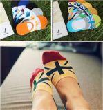 Fantasie kopierte klare Jacquardlow geschnittene unsichtbare Socken