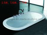 Vasca da bagno acrilica semplice poco costosa popolare con il prezzo di fabbrica (317A)